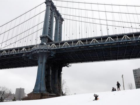 Brooklyn Bridge Park en Nueva York.