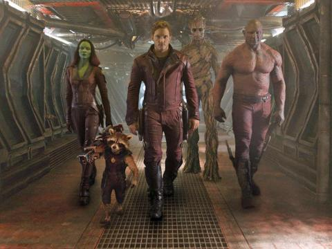 "1. ""Guardians of the Galaxy"" (2014)"