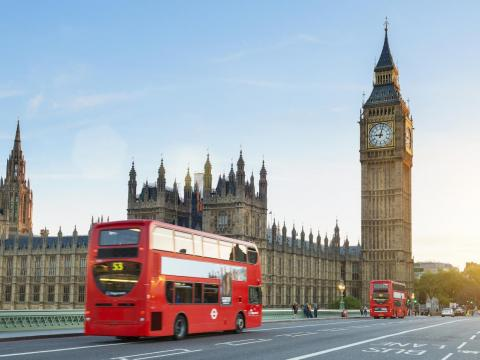 #1: London, England, features a heady mix of history and modernity, from Buckingham Palace to the Tate Modern.