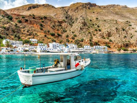 #4: Crete, Greece, is full of history both mythological and archaeological.