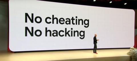 6. Google promete que no habrá tramposos ni hackeos