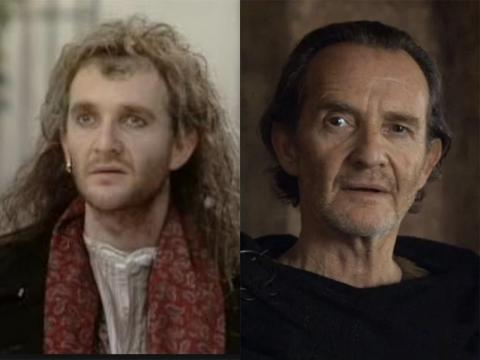 "The 67-year-old Anton Lesser is known as Qyburn on ""Game of Thrones,"" but the actor has been a member of the Royal Shakespeare Company and was in a number of TV movies starting in 1979."
