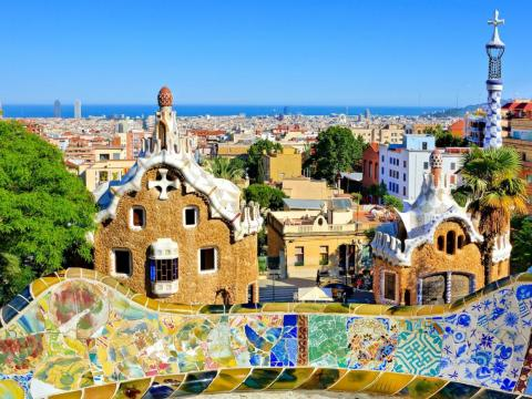 #7: Barcelona, Spain, is another must-visit for fans of architectural history — you can't leave without checking out Gaudí's Basílica i Temple Expiatori de la Sagrada Família.