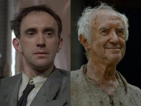"71-year-old Jonathan Pryce played the High Sparrow on ""Game of Thrones."" He began his career as a stage actor, but his breakthrough film role was in 1985's ""Brazil."""
