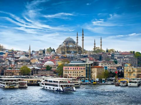 #8: Istanbul, Turkey, is full of breathtaking architecture, bazaars, and traditional Turkish baths.