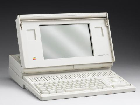 10. Macintosh Portable (1989) — $7,300