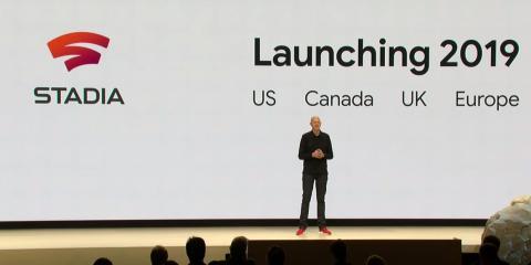 8. Se prevé que Stadia llegue a lo largo de 2019 a EE. UU, Canadá y la mayoría de países europeos