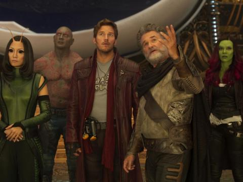 "11. ""Guardians of the Galaxy Vol. 2"" (2017)"