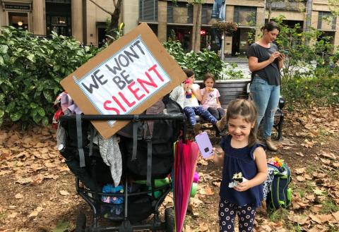 Huelga por el clima en Sydney