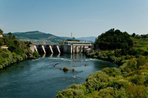 Central hidroeléctrica de Castrelo do Miño de Naturgy