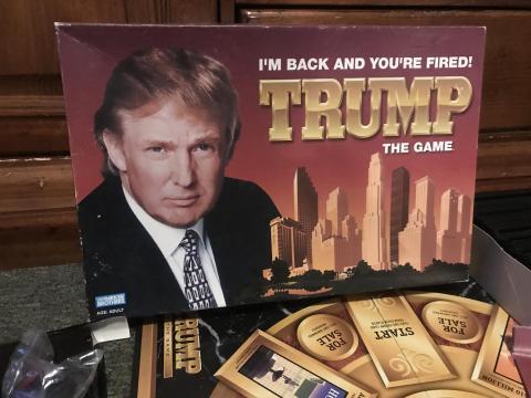 El juego de mesa de Donald Trump.