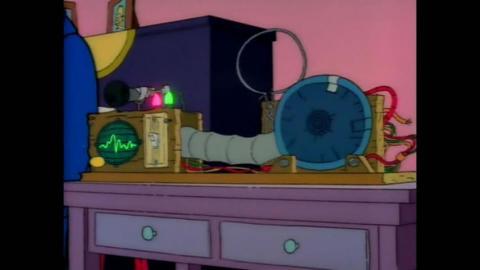 El traductor de bebés de Los Simpson