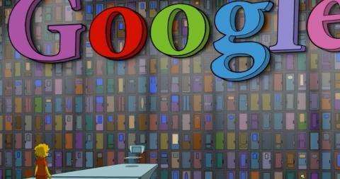 Google, en Los Simpson