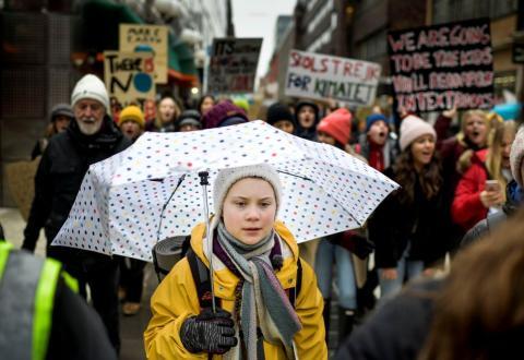 Huelga por el clima en Suecia