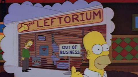 La tienda para zurdos de Ned Flanders