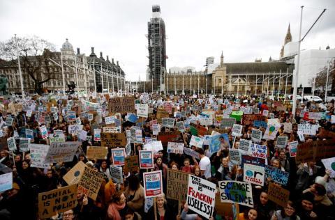 Huelga por el clima en Londres