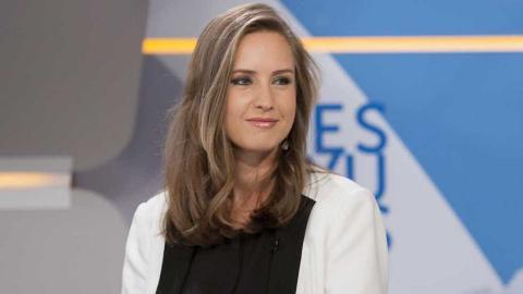Melisa Rodríguez, en 'Los Desayunos' de TVE.