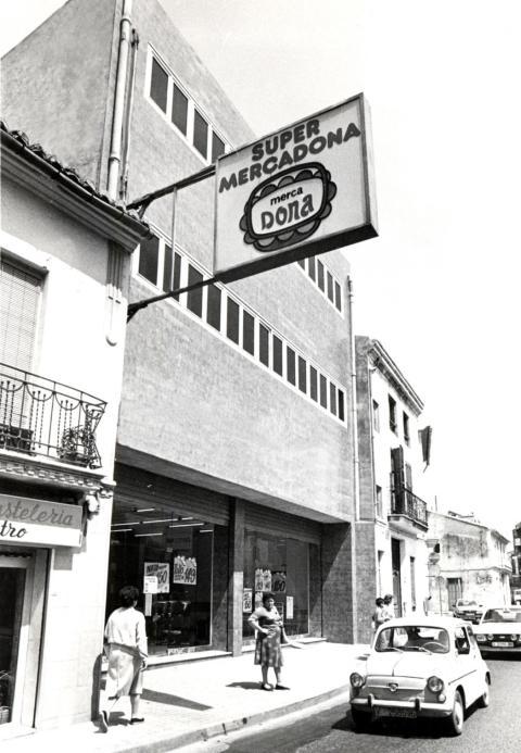 Un Mercadona antiguo.