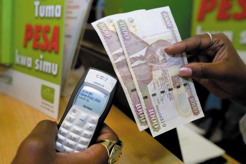Transferencia usando M-Pesa