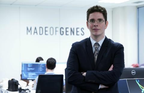 Óscar Flores, fundador de Made of Genes.