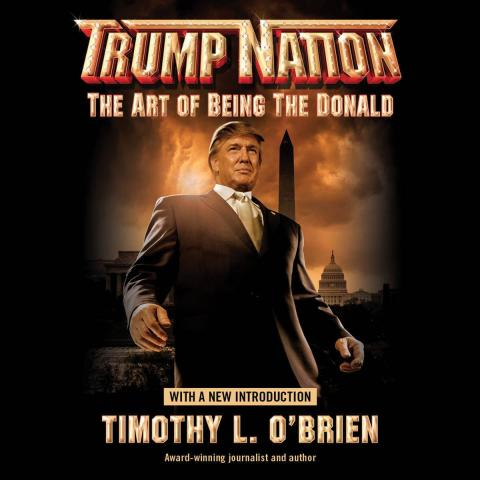 Portada del libro Trump Nation.