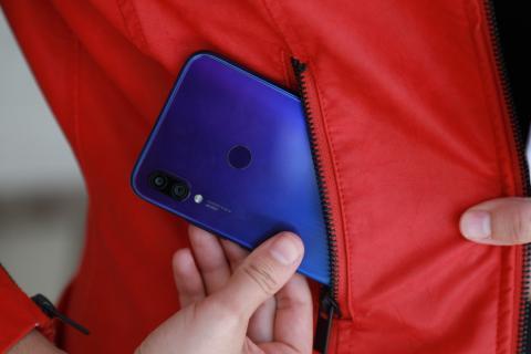 Redmi Note 7 bolsillo