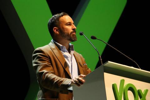 Santi Abascal, líder de Vox.