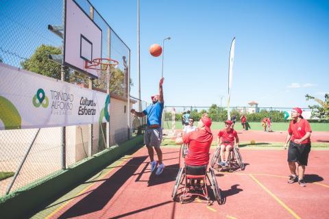 Actividades deportivas en la Fundación Roig Alfonso