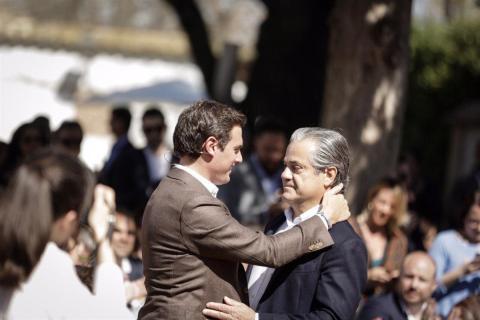 Albert Rivera y Marcos de Quinto
