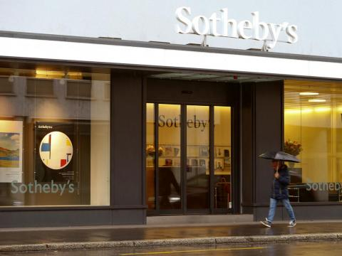 Amazon also had a deal with Sotheby's, where the two companies jointly ran a high-end online auction site.