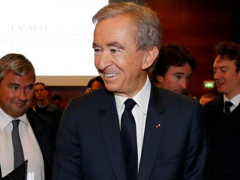 Bernard Arnault.
