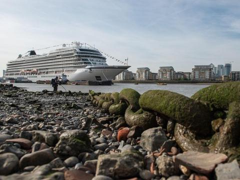 Los cruceros producen una gran cantidad de aguas residuales.