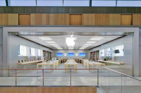 Apple Store del Puerto Venecia Shopping Resort en Zaragoza