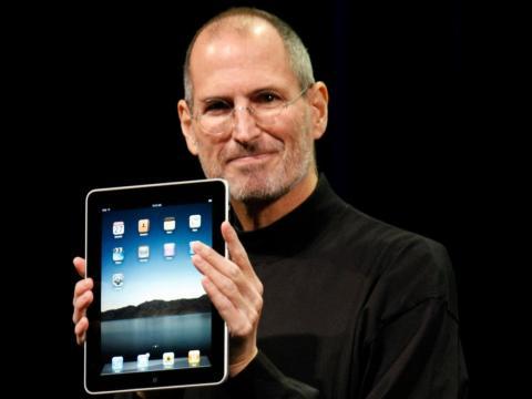 Apple presentó el iPad en 2010, pero Steve Jobs tenía en mente las tablets desde 1983