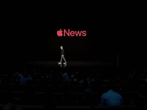 Apple lanza su app de noticias con acceso a revistas y diarios.