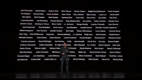 Apple says it has partnered with the most accomplished storytellers, and a new generation of the most exciting voices, to make Apple TV Plus a destination for high-quality originals, from dramas to documentaries and beyond.