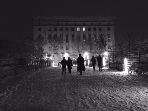 Berlín también es la meca de la música electrónica y su emblema es el masterstroke Berghain.