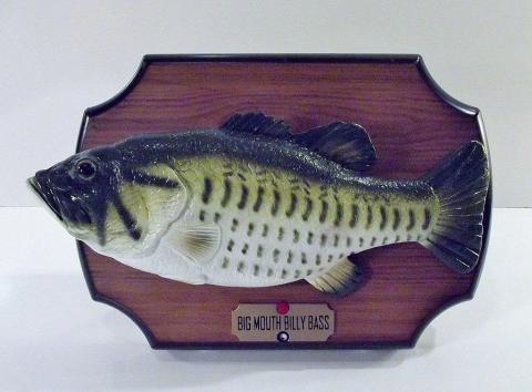 The singing mounted fish made for an excellent gag gift.
