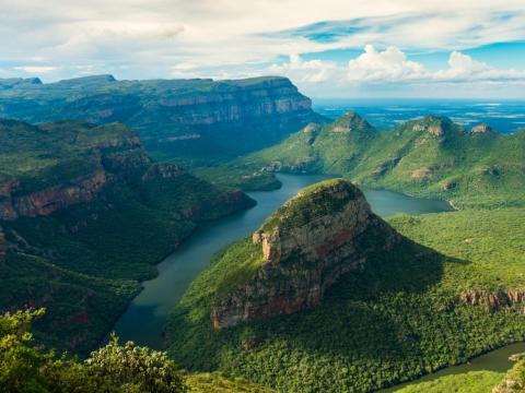 El cañón del río Blyde, Sudáfrica