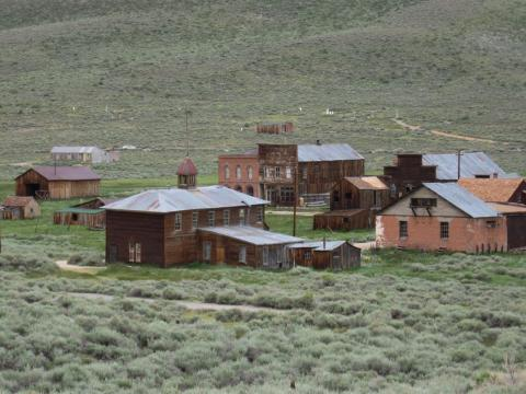 Bodie, California, has become a ghost town.