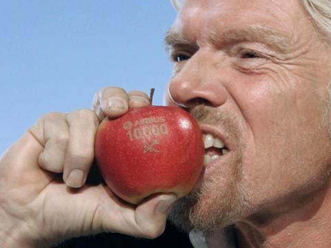 Branson said back in 2010 that he eats fruit salad and muesli for breakfast.<br>Occasionally, he'll also eat kipper, a herring-like fish.
