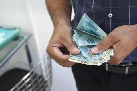 Billetes de Real brasileño