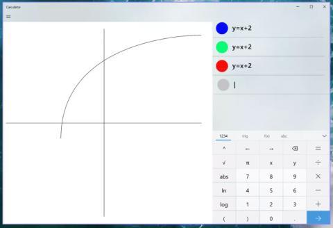 Modo gráfico calculadora Windows 10