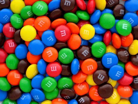 Caramelos M&M
