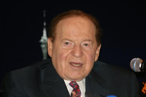 El CEO de Las Vegas Sands, Sheldon Adelson
