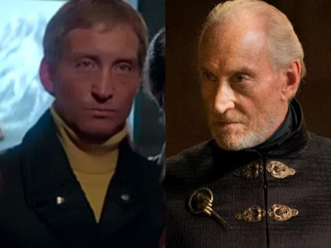 "Charles Dance may be known for his villainous role as Tywin Lannister, but the actor's first film role was as the villain in the James Bond movie ""For Your Eyes Only."""