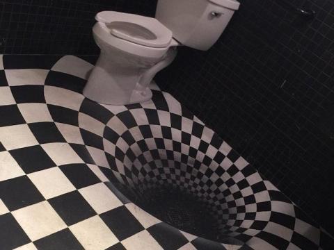 El baño del salón mágico de Chicago