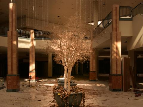 Chicago's Lincoln Mall transformed from a vibrant shopping center into an eerie, deserted wasteland after it closed in 2015.