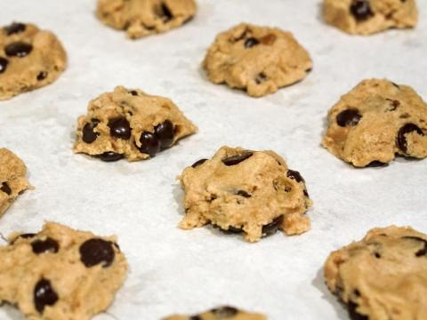 Chocolate chip cookie dough wasn't meant to have chocolate chips in it.