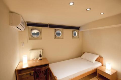 Asegúrate de saber dónde se encuentra tu habitación en el barco.